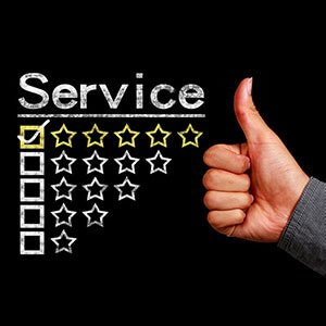 Five star rating company review
