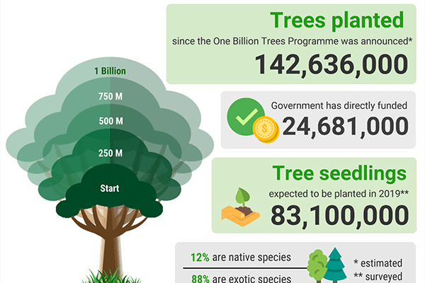 One Billion Trees Project NZ