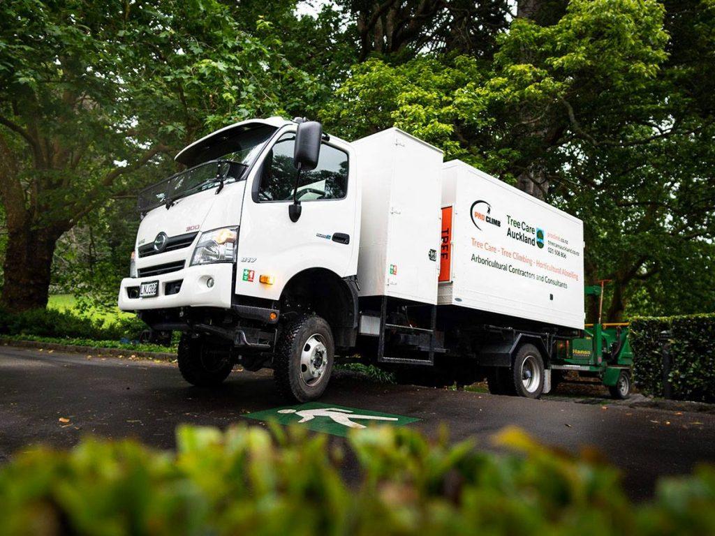 Pro Climb Subcontractor Van
